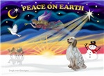 CHRISTMAS SUNRISE<br>& English Setter