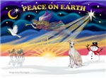 CHRISTMAS SUNRISE<br>& Italian Greyhound