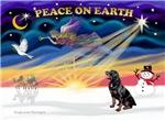CHRISTMAS SUNRISE<br>& Rottweiler