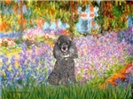 GARDEN OF GIVERNEY<br>& Silver Poodle (Toy/Min)