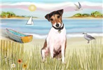 THE ROWBOAT <br>& Jack Russell Terrier