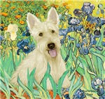 IRISES<br>& Scottish Terrier
