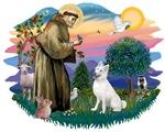 St. Francis #2 &<br>Siberian Husky (W)