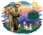 St. Francis #2 &<br>Cavalier King Charles (two ble