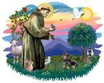 St. Francis #2 &<br>Dachshund (BT)