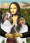 MONA LISA<br>& Two Shetland Sheepdogs