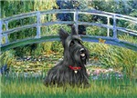 LILY POND BRIDGE<br>& Scottish Terrier #1