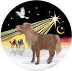 Shetland Pony<br><B>CHRISTMAS DESIGNS<B>