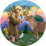 Saint Francis<br>With a Shetland Pony