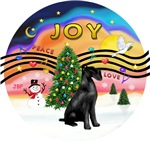 Christmas Music #2<br>Giant Black Schnauzer