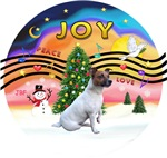 CHRISTMAS MUSIC #2<br>Jack Russell Terrier (#6)