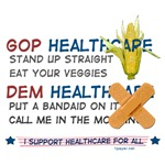 Healthcare Reform T-shirts, Stickers