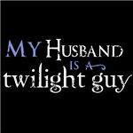 My Husband Is A TwilightGuy (Blue)
