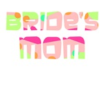 Confettie Bride's Mom T shirts & Gifts