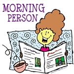 Morning Person Tshirts & Gifts