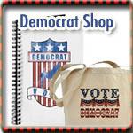 Democrat T-shirts, Buttons & Gear