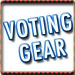 Vote T-shirts, Voting Tshirts and Pro-Voting Tees