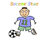 Soccer Star T-shirts, Clothes & Soccer Gifts