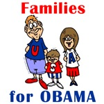 Families for Obama T-shirts and Gear