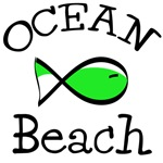 Fish Ocean Beach T-shirts, Tees, Accessories