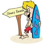 Jones Beach Surf T-shirts, Gifts