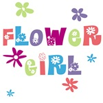 Happy Flower Girl T-shirts and Gifts
