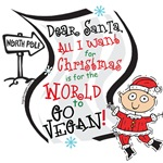 Vegan Christmas Wish T-shirts & Gifts