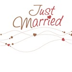 Just Married Gifts for Bride & Groom
