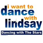 DWTS I Want to Dance with Lindsay T-shirts