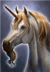 Unicorn Portrait Fantasy Cards & Gifts