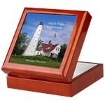 Lighthouse keepsake boxes