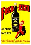 Fred-Zizi Vintage Aperitif Print
