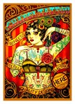 Chapel Vintage Tattooed Lady Print