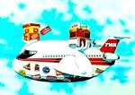 TWA Cargo Advertising Print