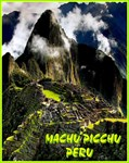 Machu Picchu Peru Travel Advertising PrintSection