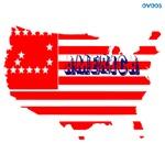 OYOOS USA America Flag design