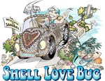 Shell Love Cartoon Gear