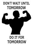 Do It For Tomorrow Male Merch