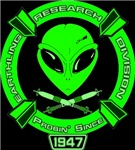 Earthling Research Division - est. 1947