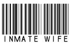 Inmate Wife Barcode Style