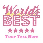 Customize Worlds Best Pink