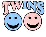TWIN SHIRT BOY GIRL TWIN BABY COMBO MATERNITY SHIR