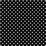 Black With White Polka-dots