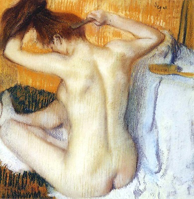Degas - Woman Combing