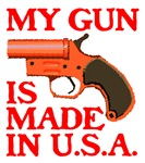 MY GUN IS MADE IN U.S.A.™.