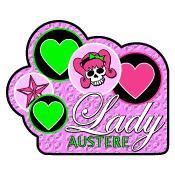 Over 35 Lady Austere Skulls & Bubble Gum T-Shirt