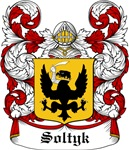 Soltyk Coat of Arms, Family Crest