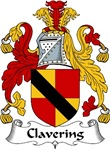 Clavering Family Crest
