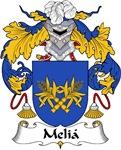 Melia Family Crest
