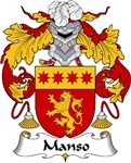 Manso Family Crest